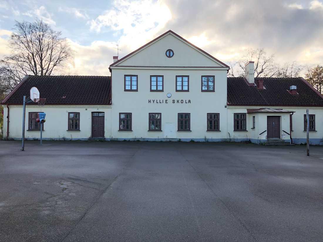 Den gamla skolan i Hyllie las ned 2013.