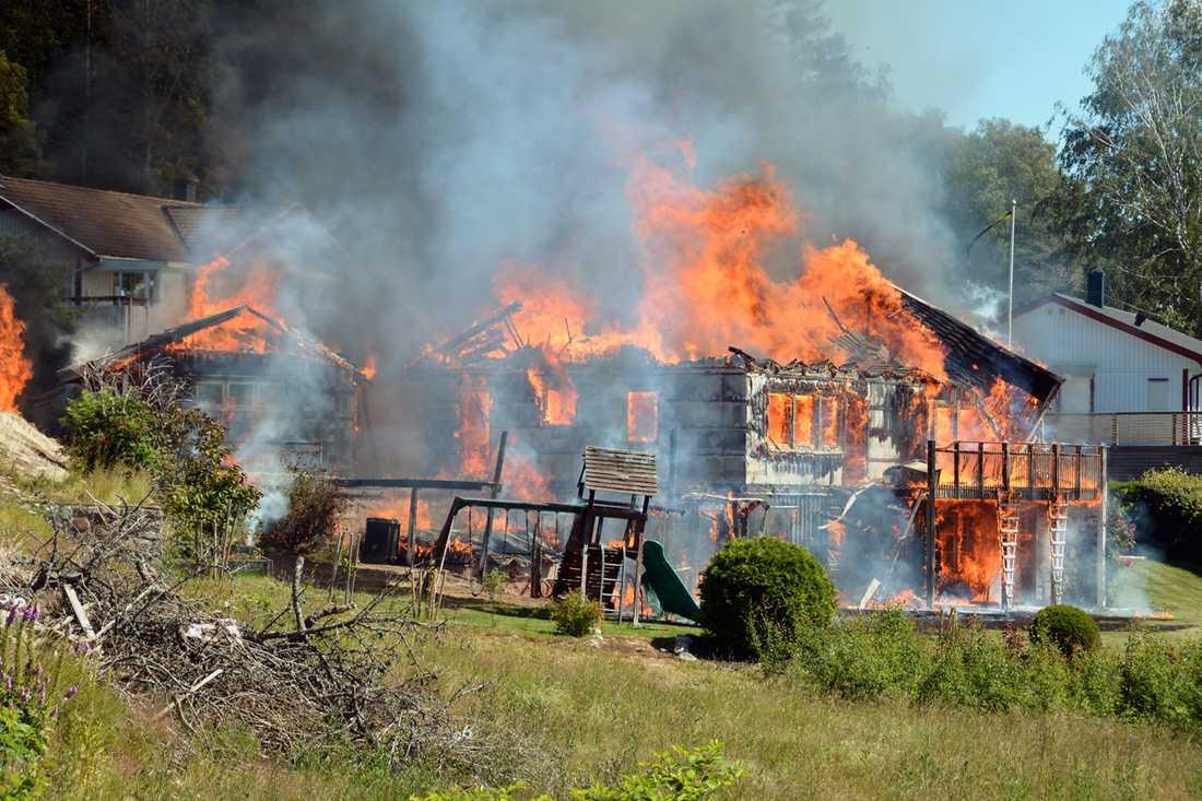 Villan i Uddevalla gick inte att rädda.