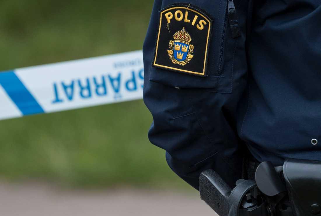 En jägare har hittat vad som tros vara skelettdelar från en människa väster om Uppsala. Arkivbild.