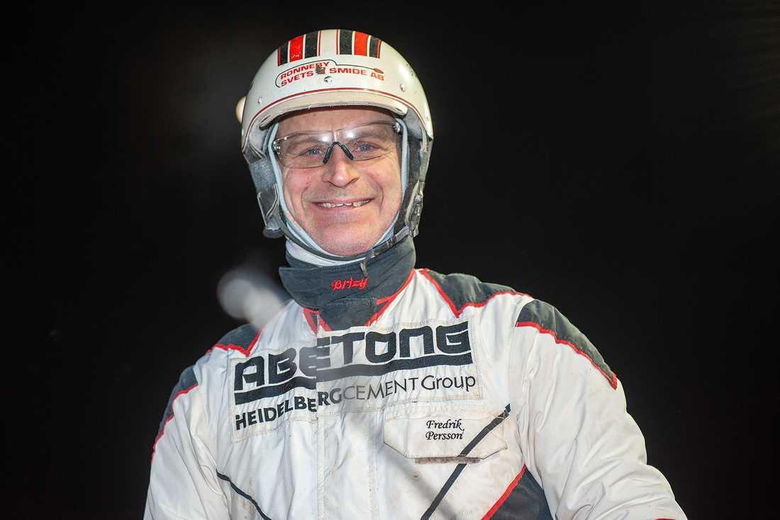 Fredrik Persson kan andas ut