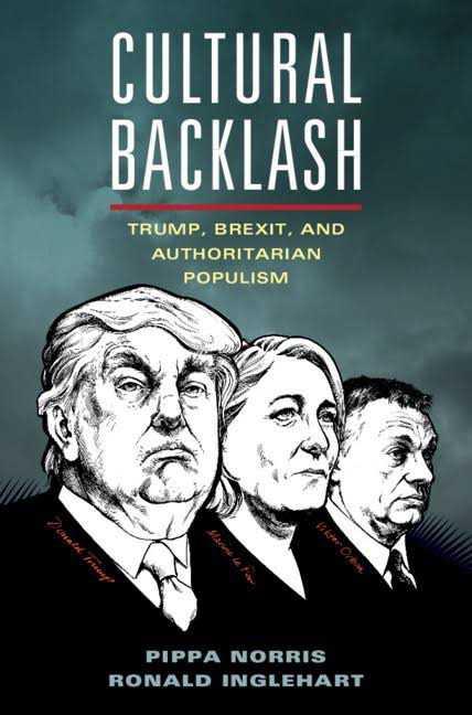 """Petter Larsson har läst """"Cultural backlash: Trump, brexit, and authoritarian populism"""" av Pippa Norris och Ronald Inglehart"""