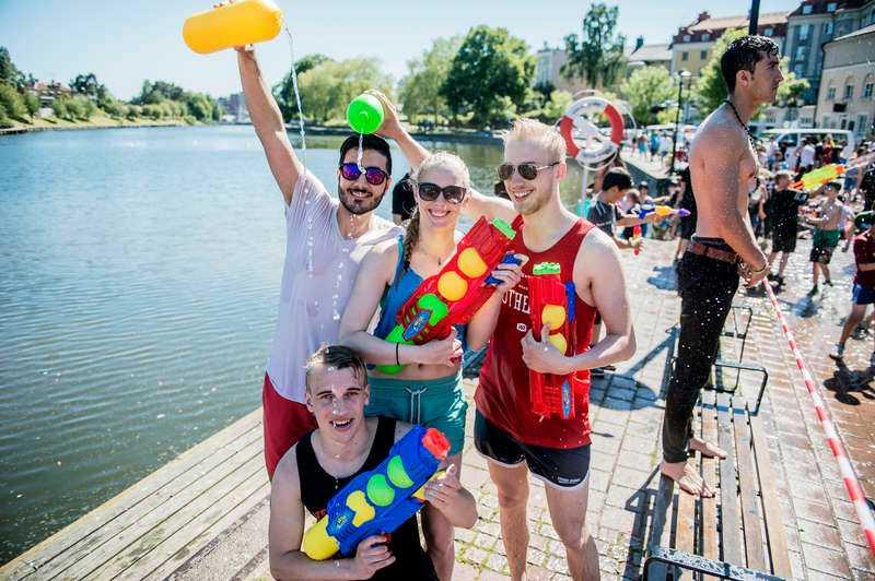 """Stora solchanser I helgen kommer sommarvärmen till Sverige.""""Det ser just nu ut som att vi kan passera 20-gradersstrecket i södra halvan av landet"""", säger Gunilla Grafström på SMHI. Foto"""