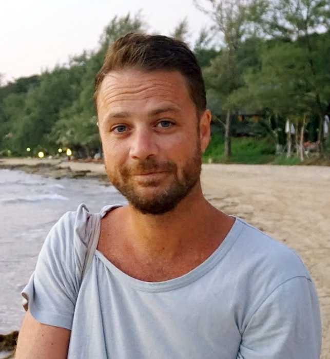 Chris Bevington, 41, dog i terrorattacken på Drottninggatan.