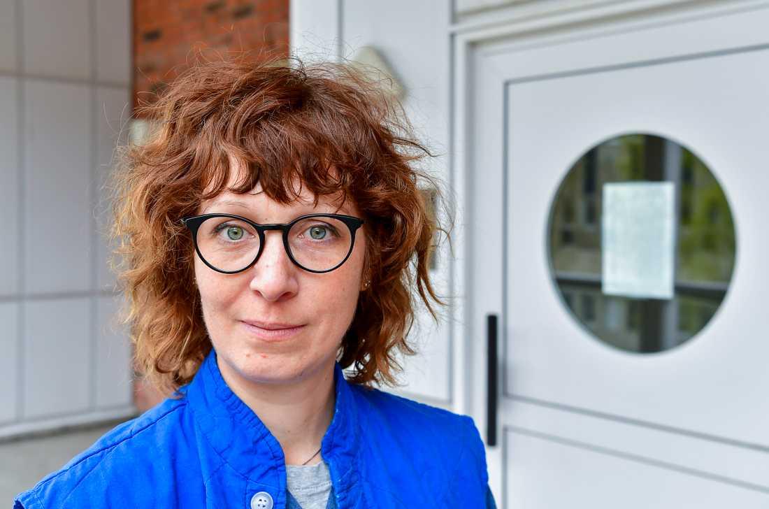 """""""Svensk sjukvård har alltid kunnat göra allt för alla. Nu stod vi i ett dilemma där vi inte hade svaren på alla våra frågor"""", säger överläkare Hedvig Glans."""