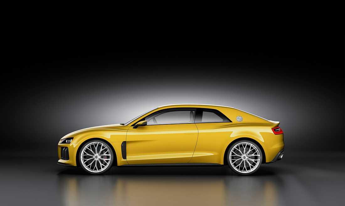 Så här såg Audis Sport Quattro-koncept ut som de visade upp 2015