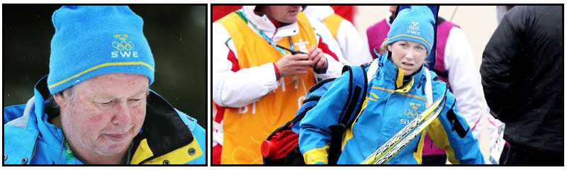 Helena Jonsson var långt ifrån medalj på damerns sprint. En tolfteplats blev det för en av våra största guldfavoriter. Nu ska Pichler ha enskilda samtal med sina åkarna inför jaktstarten.