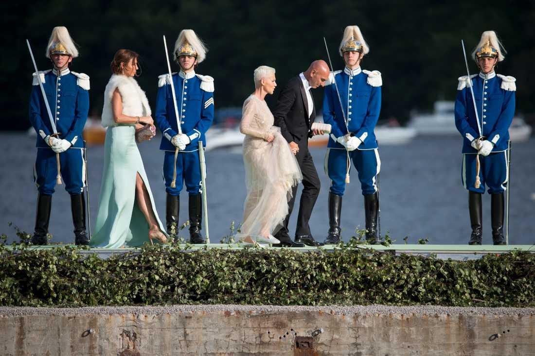 Bröllopet mellan prinsessan Madeleine och Chris O Neill.
