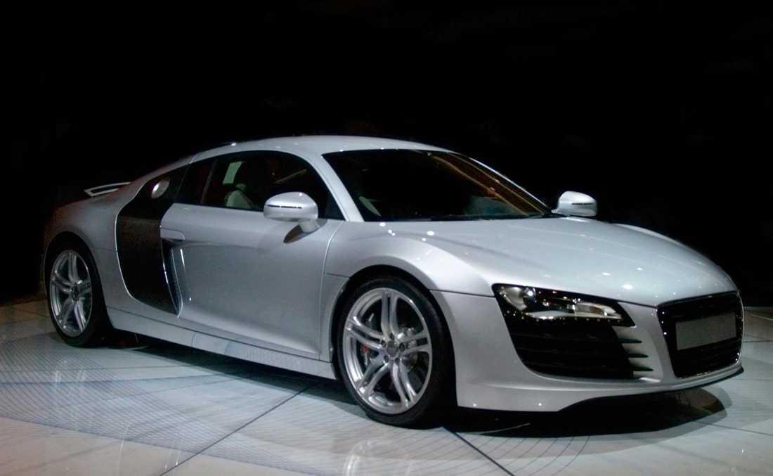 Även lyx-Audis är en favorit hos Lottovinnarna.