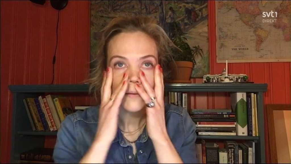 """Ane Dahl Torp vann bästa kvinnliga huvudroll för rollen som Alice i """"Charter""""."""
