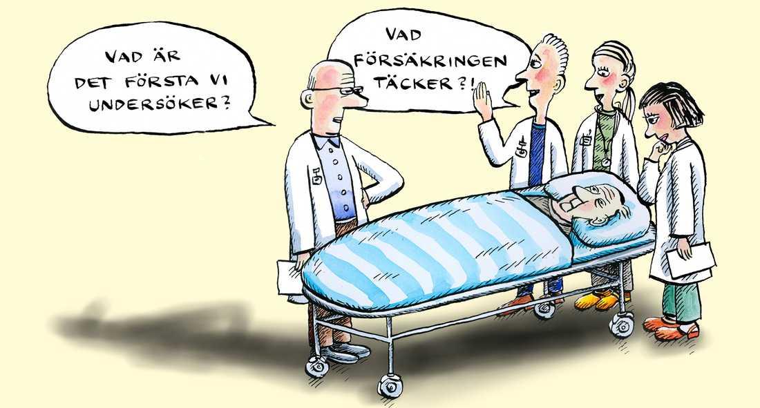 Muf vill privatisera finansieringen av vården.