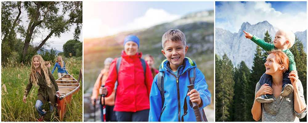 Klimatsmarta äventyr för barn kan vara allt från kanotpaddling till att cykla dressin i Dalsland.