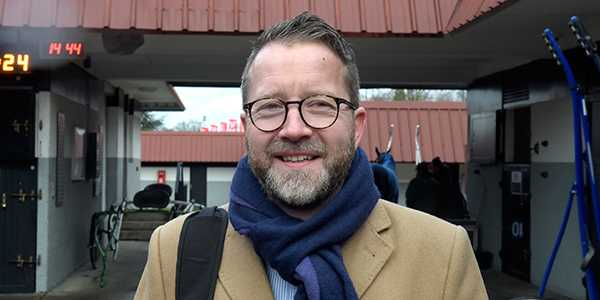 Solvallas sportchef Anders Malmrot.