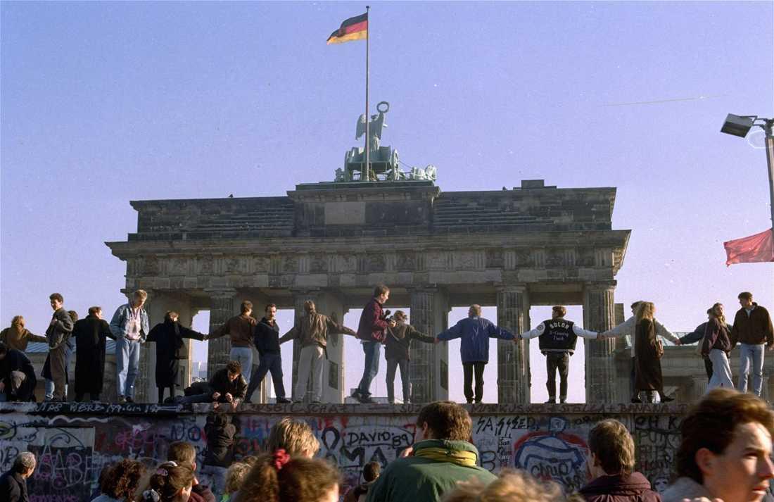Brandenburger Tor i november 1989.