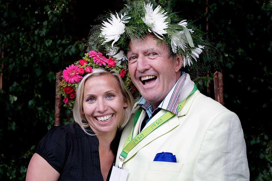 Tina Nordström och Hasse Wallman var båda sommarpratare i P1 2008.