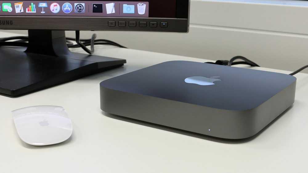 Apple Mac Mini 2018 Test: Mac Mini är förbluffande tystgående.