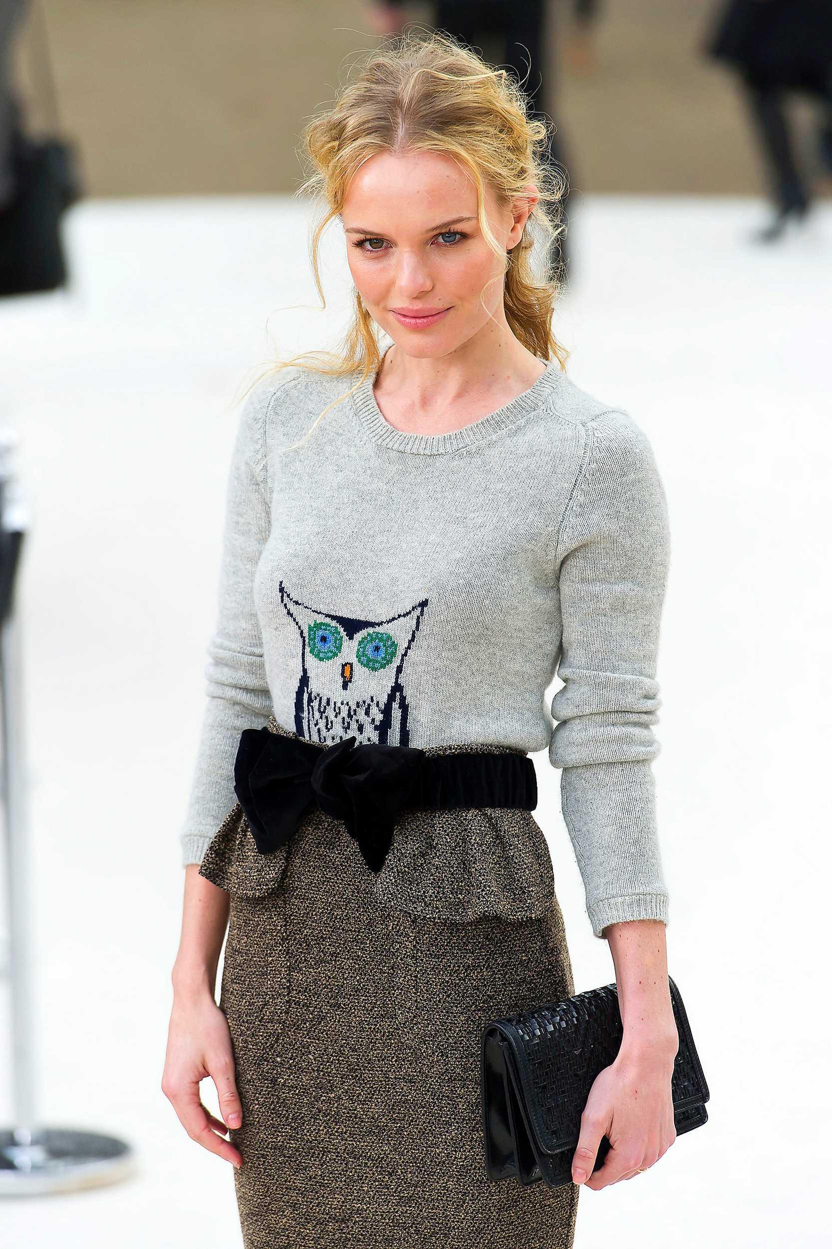 Om du har tunt hår som Kate Bosworth kan du locka håret det för att få in mer volym.