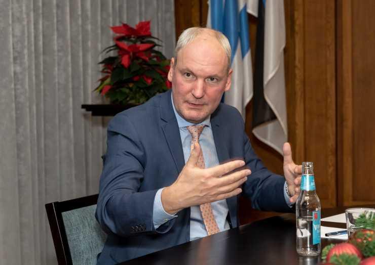 Mart Luik är den estniske premiärministerns utrikespolitiska rådgivare och arbetar specifikt med Estoniafrågan.