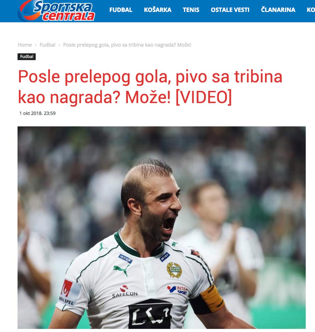 ...och i Serbien.