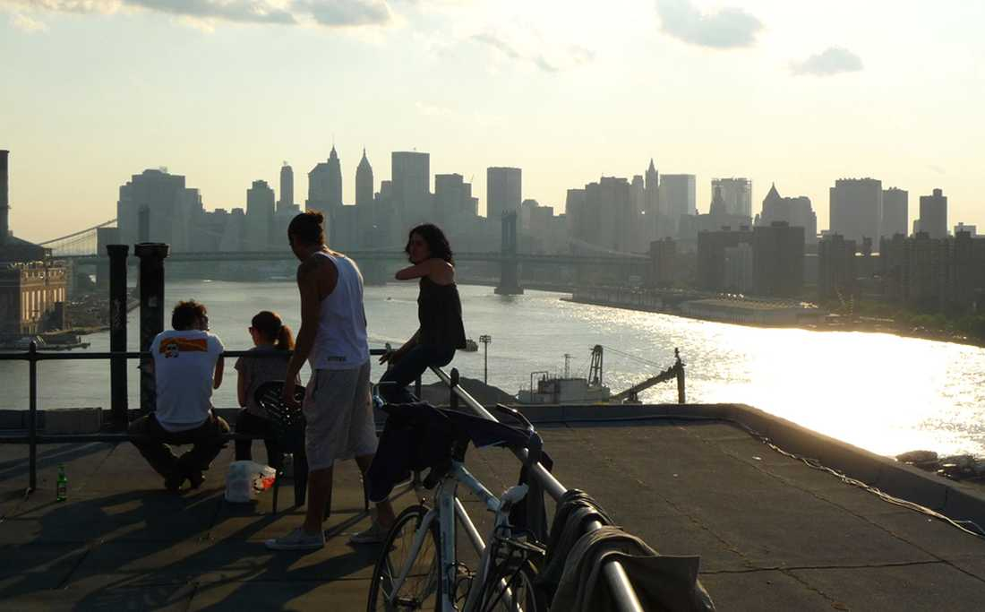 New Yorks skyline är alltid en njutning för ögat.