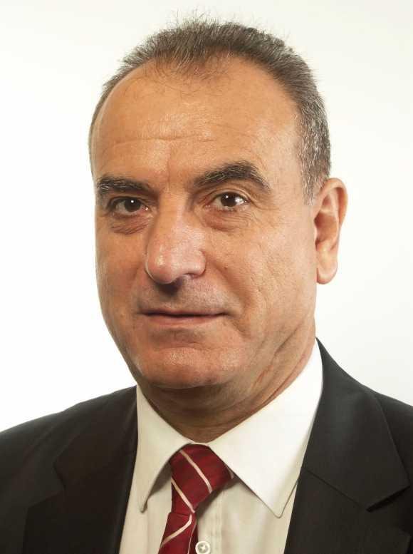 Den moderata riksdagsmannen Edip Noyan.