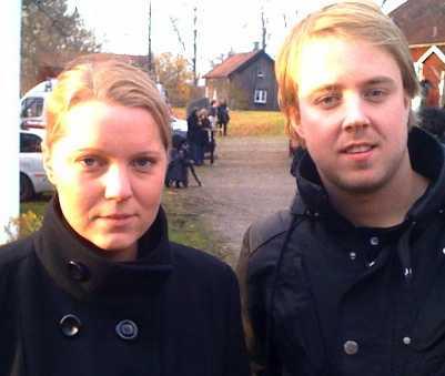 Aftonbladets Carina Bergfeldt och Andreas Bardell var på plats.