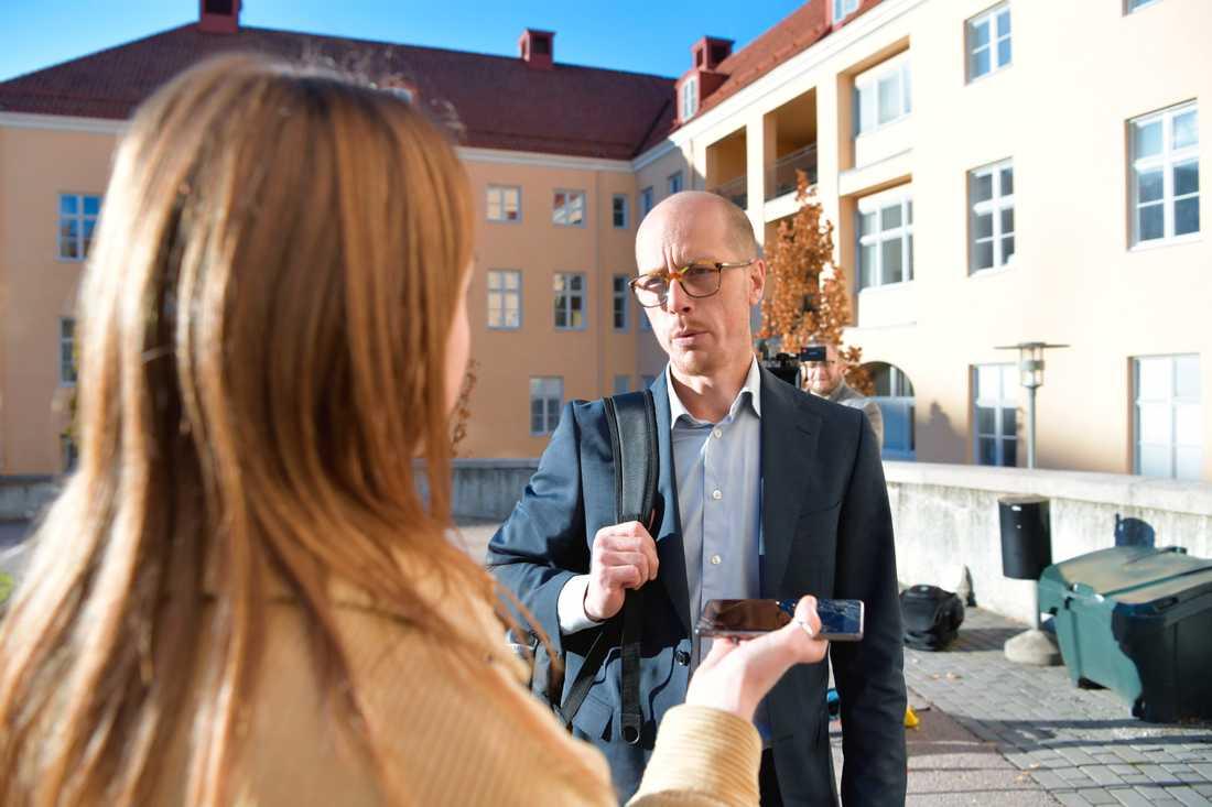 Markus Liljenroth, upphandlingschef för region Örebro.