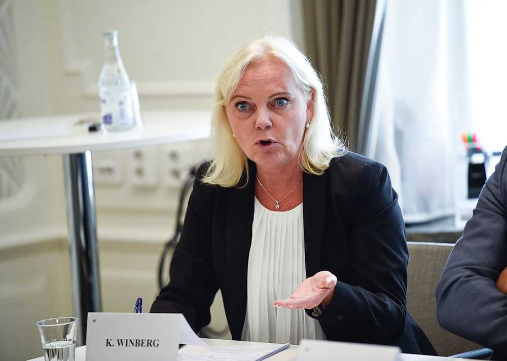 Kristina Winberg, tidigare EU-parlamentariker för SD, uteslöts ur partiet.