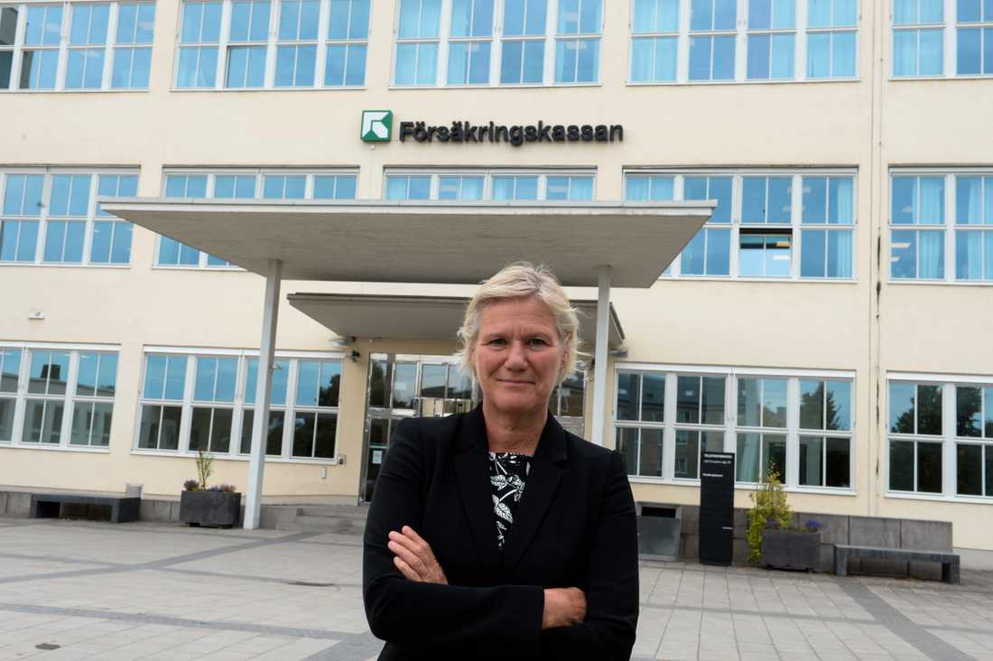 Ann-Marie Begler fick sparken som generaldirektör på Försäkringskassan. Arkivbild.