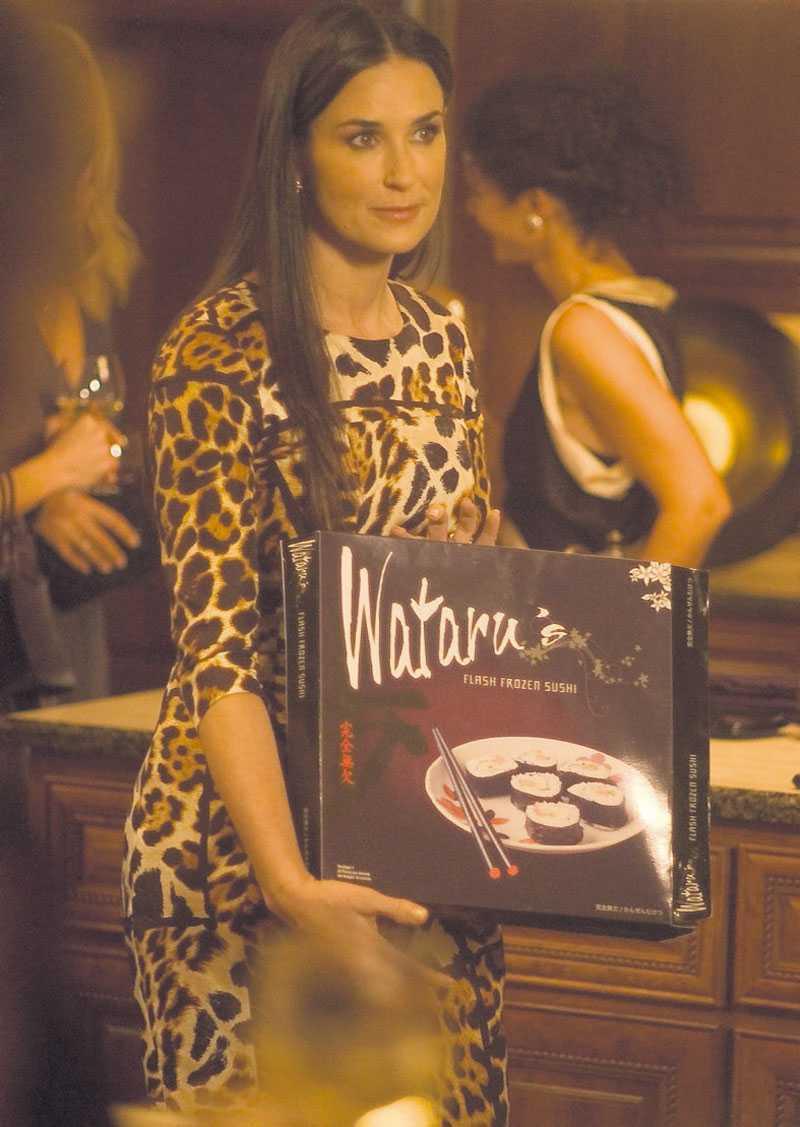 Alla vill vara som Demi Moore. Foto: SF