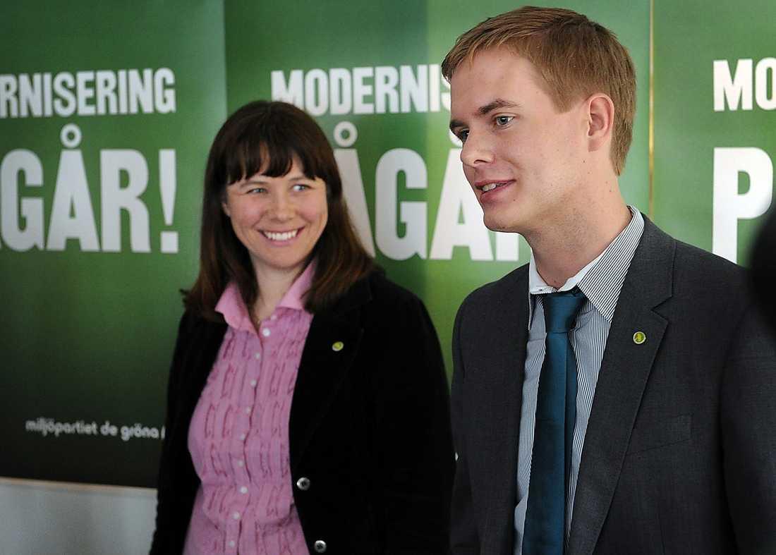 STORA MÅL Åsa Romson och Gustav Fridolin valdes till nya språkrör i våras. Miljöpartiet slog redan då fast att de vill bli den tredje kraften i svensk politik – något andra partier försökt tidigare utan att lyckas.
