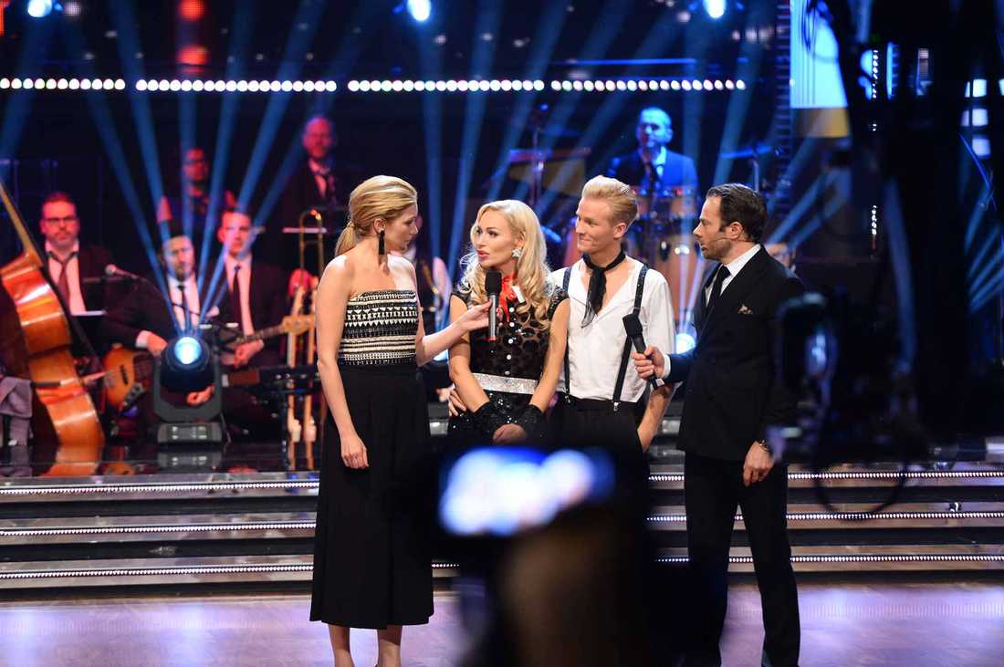 Isabel Adrian Angello åkte ur Let's dance.