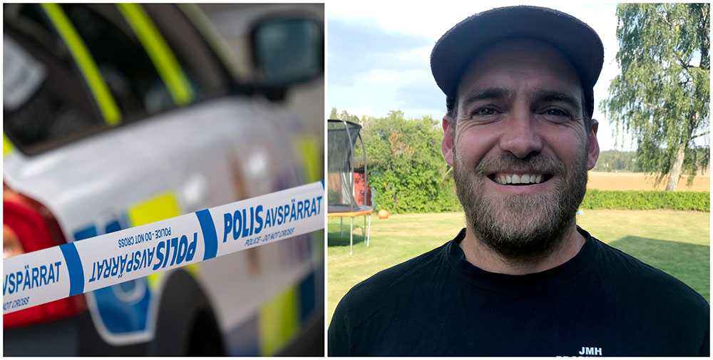 Robert Van Rooyen lyckades fånga en man som försökte våldta en ung kvinna i Hallsberg.