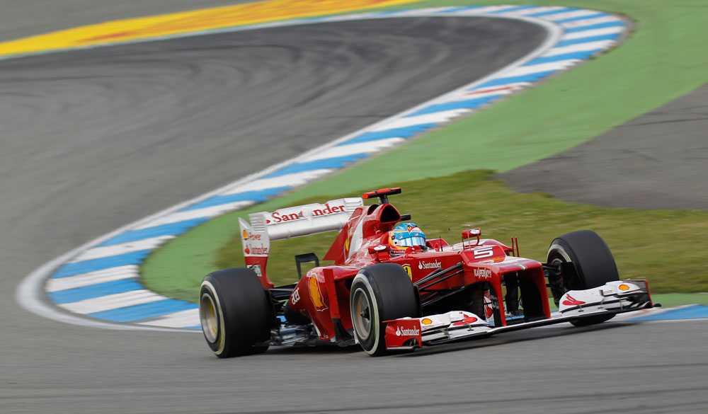 Alonso - kör gärna om på första varvet.