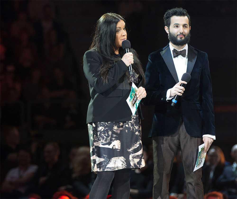 Martina Thun och Soran Ismail.