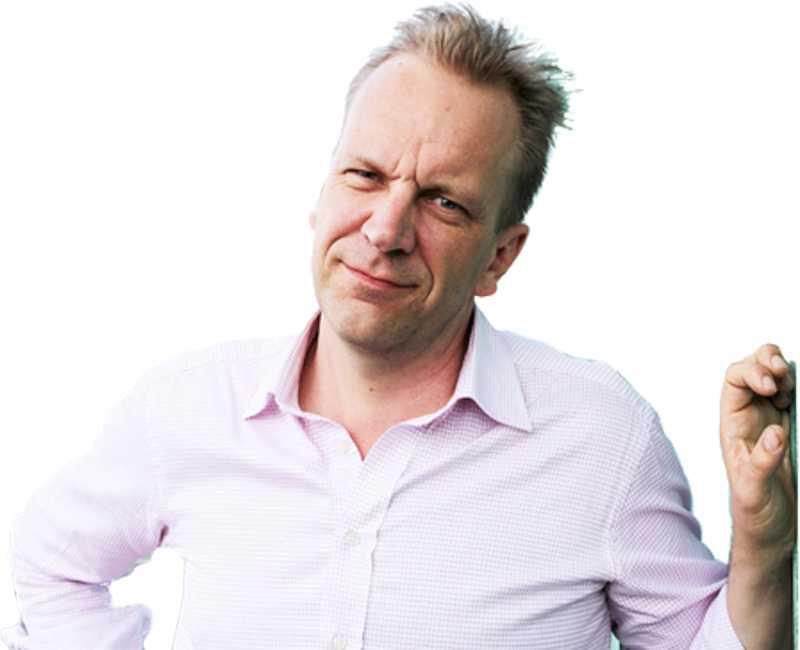 Johan Lundberg, redaktör för Axess. Foto: Fredrik Sandberg
