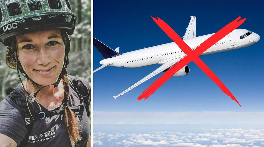 Företagaren Linda Staaf säger nej till flygande turister.