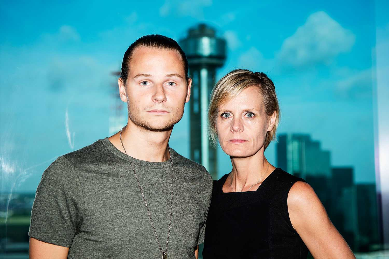 Aftonbladet Robin Lorentz-Allard och Katarina Andersson på plats i Dallas.