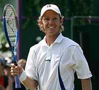 Thomas Johansson tog sig vidare till Wimbledon-kvarten.