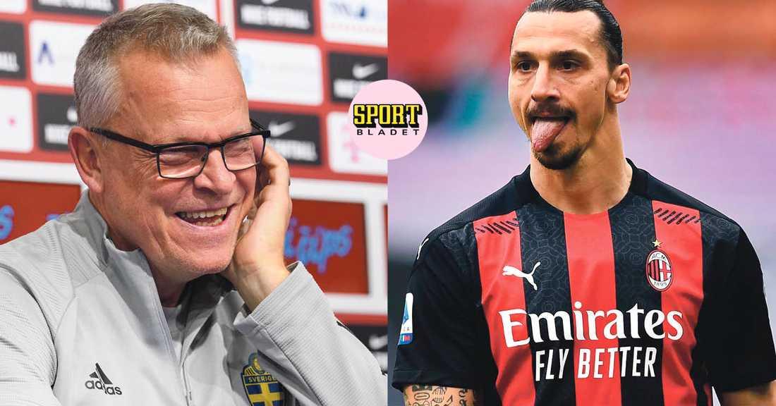 Janne Andersson ger besked om Zlatans eventuella comeback i landslaget den 16 mars.