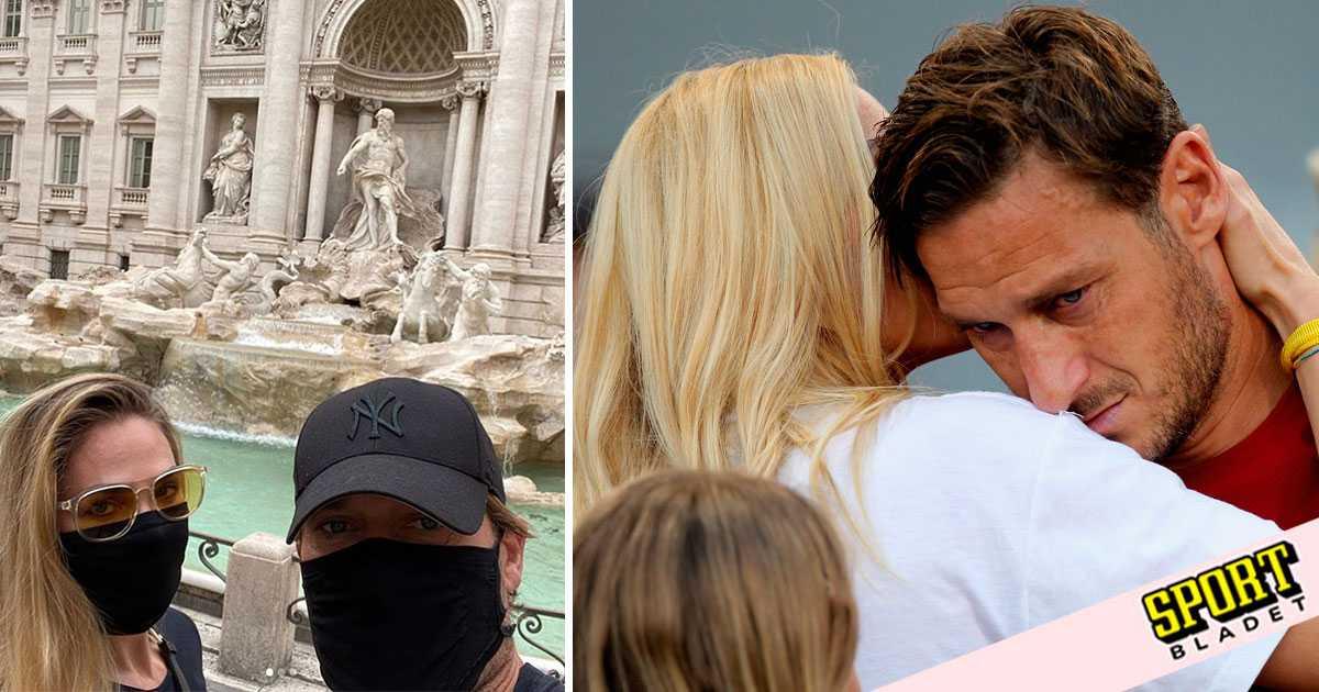 Totti kan promenera fritt i Rom under pandemin