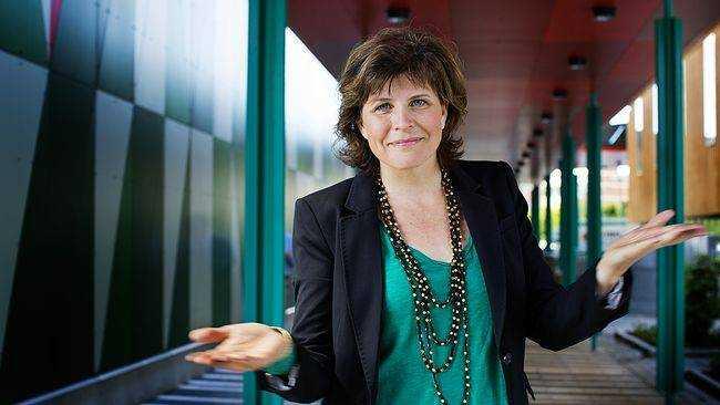 Kristina Hedberg, programledare i SVT:s Debatt …