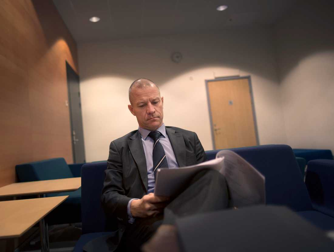Advokaten Ulrik Smedberg.
