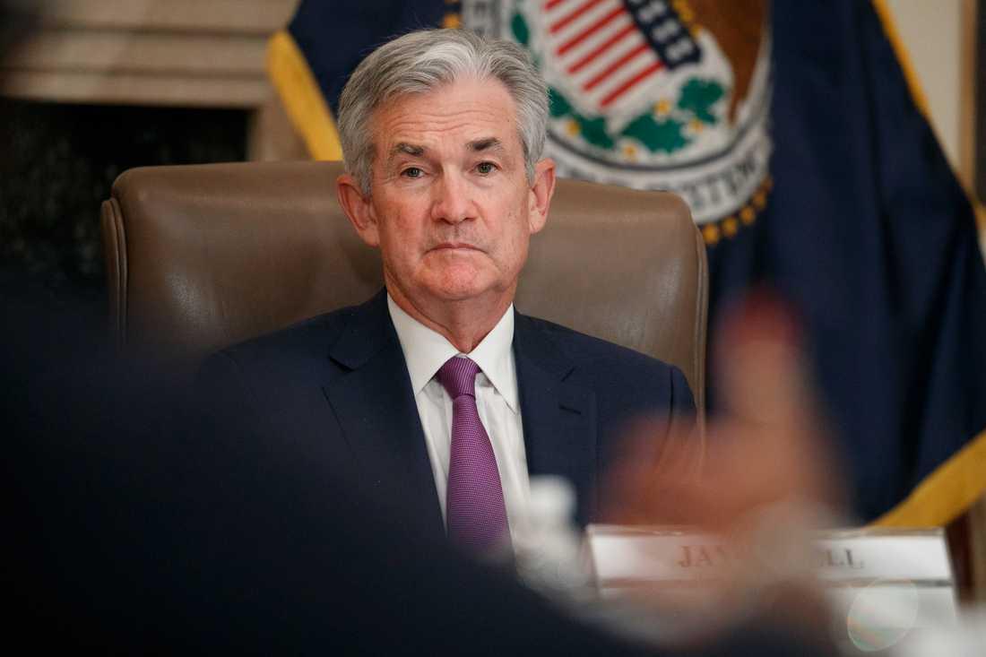 Centralbankschefen Jerome Powell. Arkivbild.