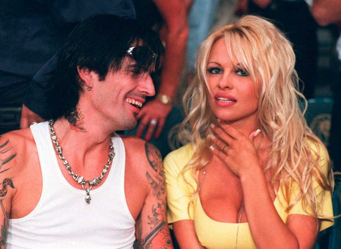 Pamela Anderson och Tommy Lee.