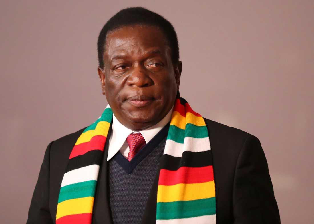 Emmerson Mnangagwa har vunnit presidentvalet i Zimbabwe.