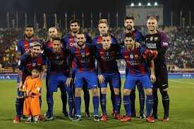 När Barcelona spelade en match i Qatar blev Murtaza inbjuden att träffa sin stora idol.