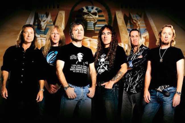 Iron Maiden.