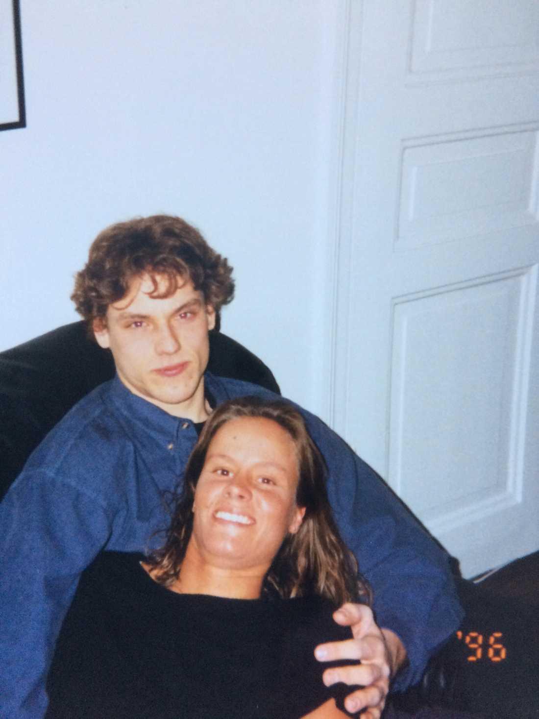 Andreas Larsen och Vanja Persson höll ihop i 18 år.