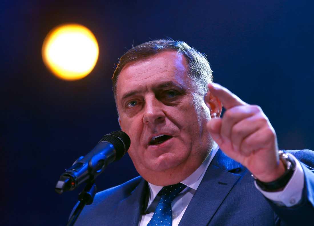 Partierna har 30 dagar på sig att utse ministrar, enligt Milorad Dodik som är den serbiske representanten i presidentrådet. Arkivbild.