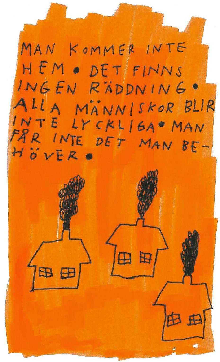 """Ur Nina Hemmingssons nya album """"Så jävla normal""""."""
